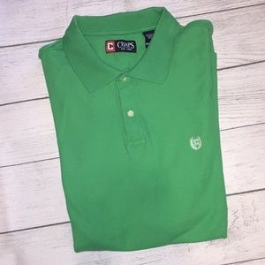 Ralph Lauren Chaps Men's XXL (2x) Green POLO Shirt